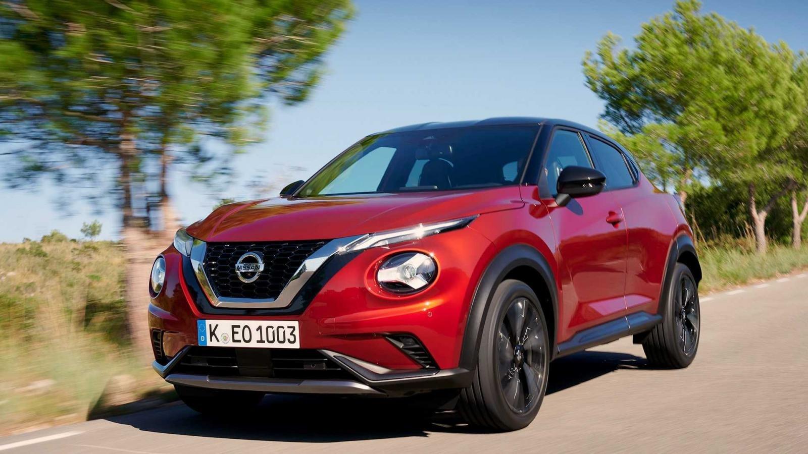Đánh giá xe Nissan Juke 2020 vềtrang bị an toàn.