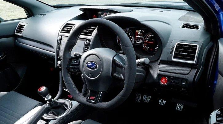 Subaru WRX STI EJ20 Final Edition.