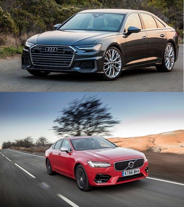 So sánh Volvo S90 và Audi A6
