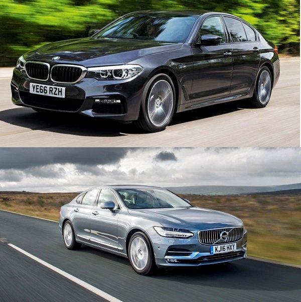 So sánh Volvo S90 và BMW Series 5