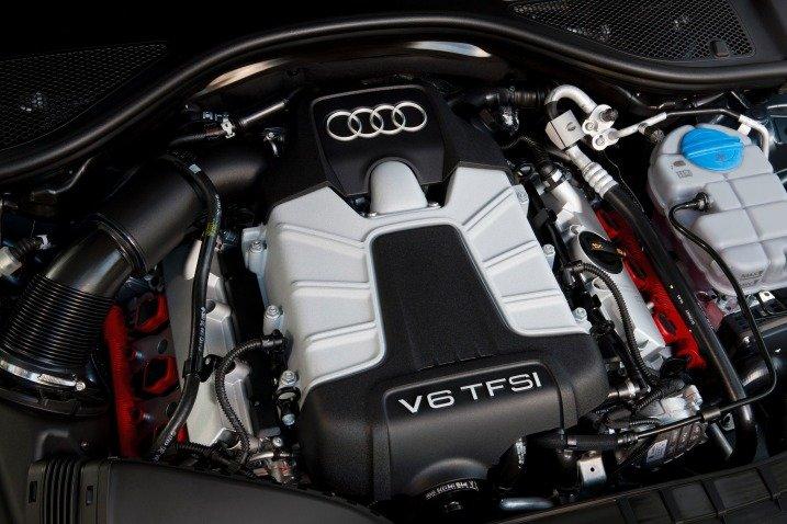 Động cơ vận hành Audi A6