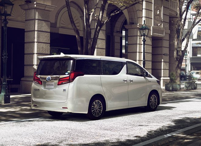 Ngoại thất xe Toyota Alphard