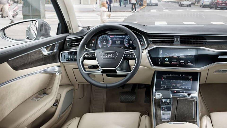 Không gian nội thất Audi A6