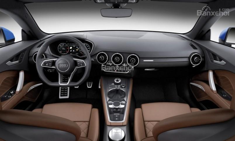 Không gian nội thất Audi TT