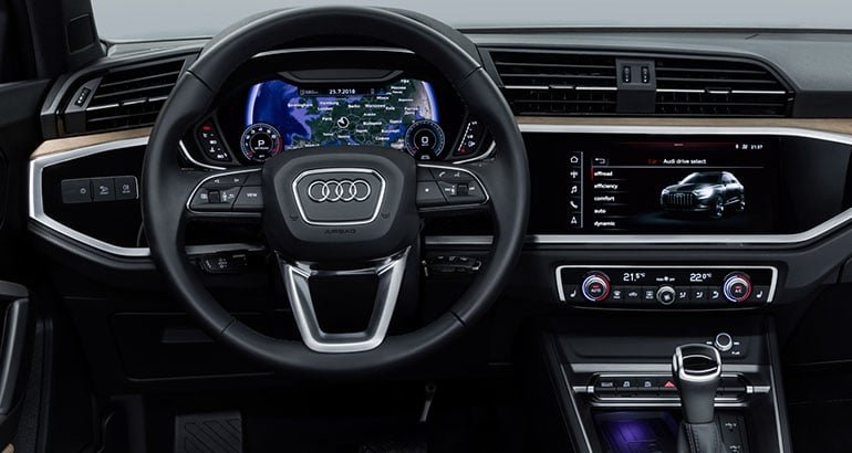 Tiện nghi xe Audi Q3