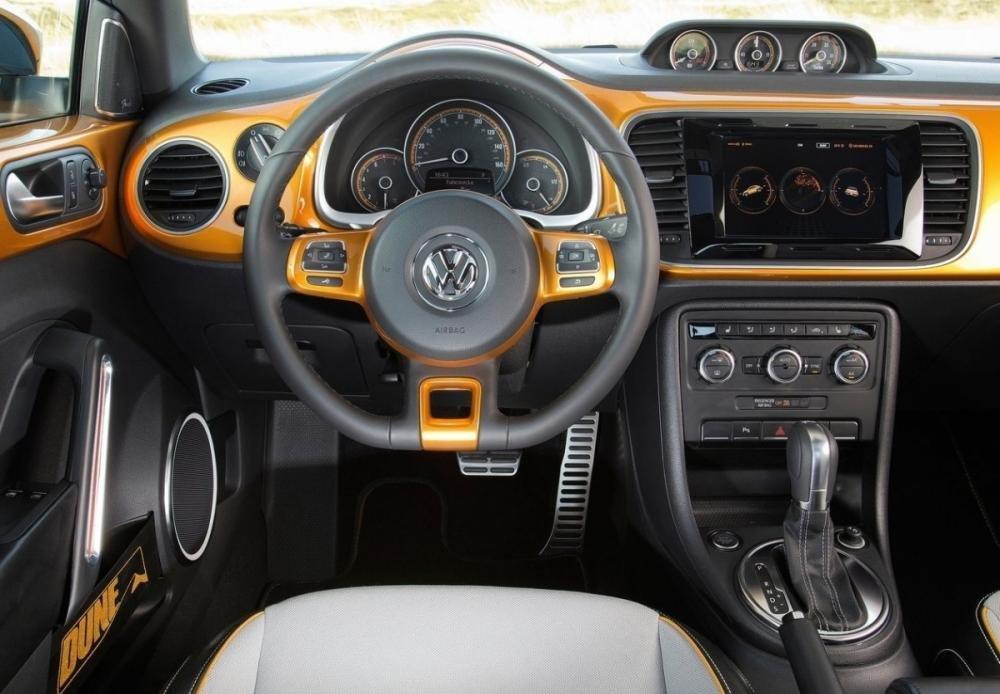 Trang bị tiện nghi Volkswagen Beetle