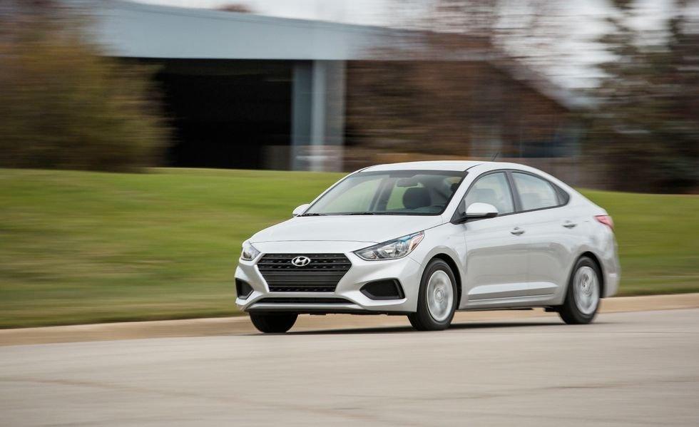 Thị trường xe hơi Hyundai Accent 2019
