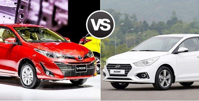 So sánh Hyundai Accent và Toyota Vios
