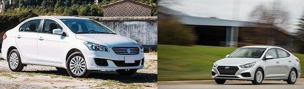 So sánh Hyundai Accent và Suzuki Ciaz