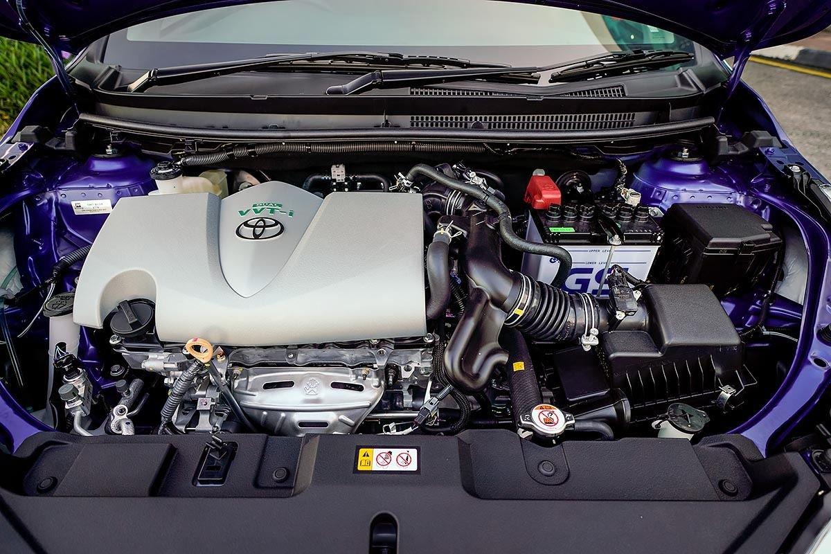 Động cơ trên oto Toyota Vios