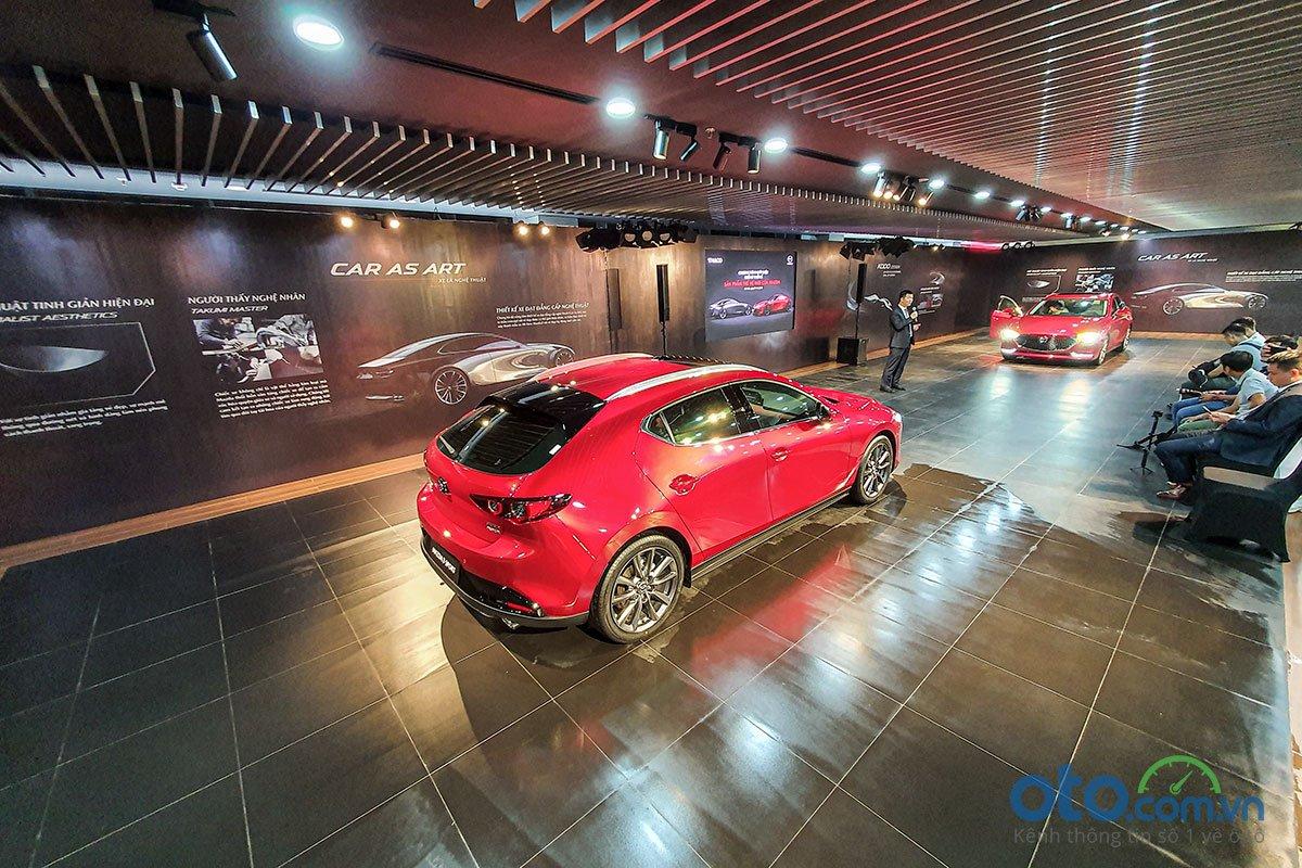 Buổi lễ giới thiệu triết lý thiết kế mới của thương hiệu Mazda .