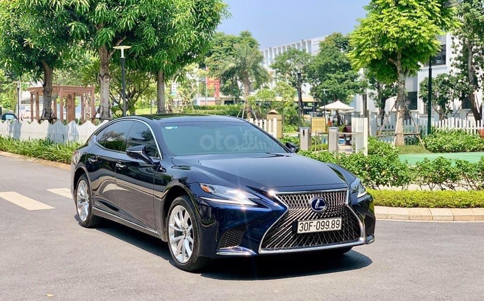 Cần bán Lexus LS 500h đời 2018, màu xanh lam, xe nhập (1)