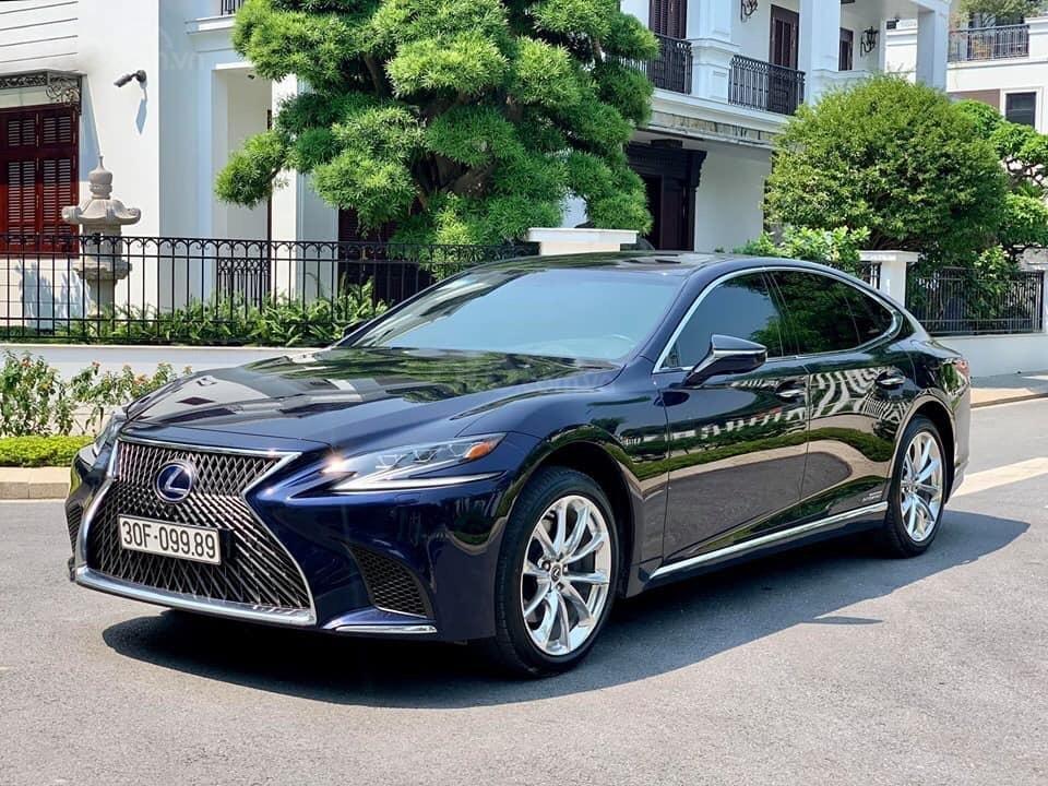 Cần bán Lexus LS 500h đời 2018, màu xanh lam, xe nhập (2)
