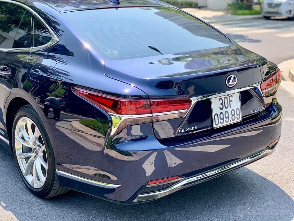 Cần bán Lexus LS 500h đời 2018, màu xanh lam, xe nhập (3)