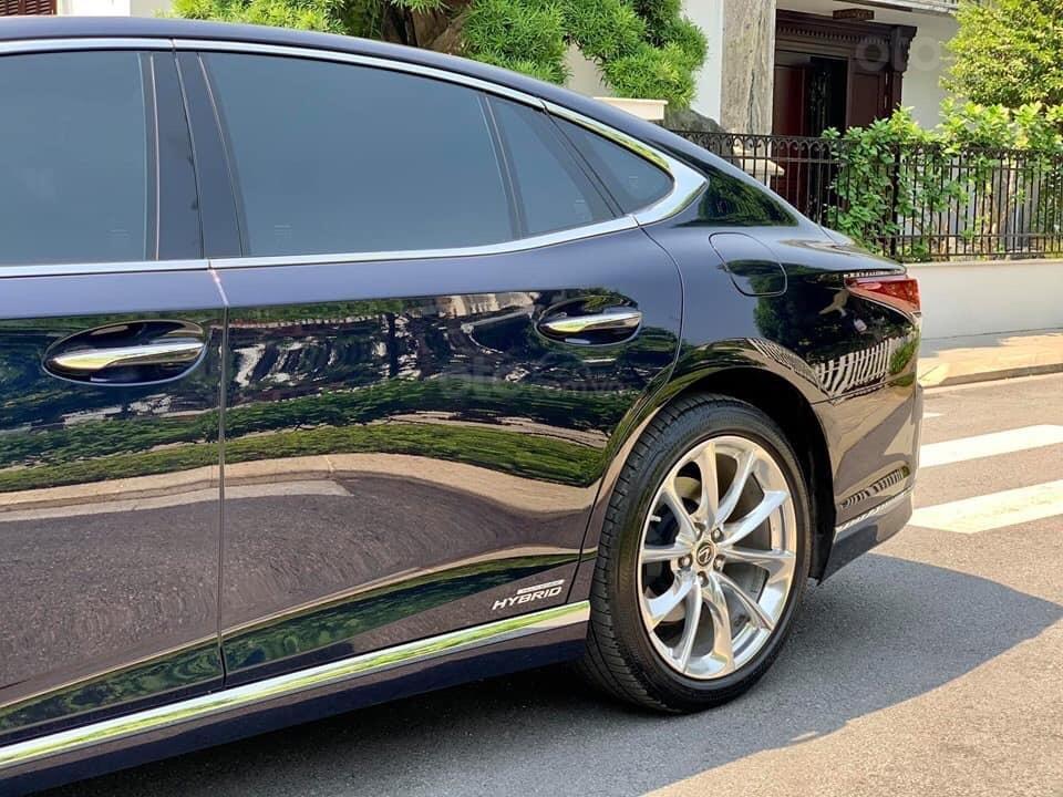 Cần bán Lexus LS 500h đời 2018, màu xanh lam, xe nhập (4)