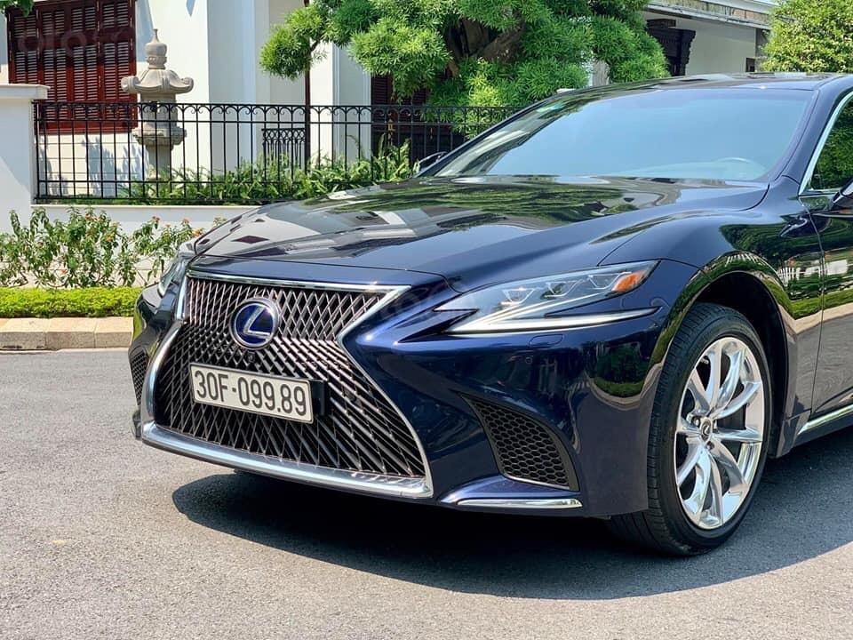 Cần bán Lexus LS 500h đời 2018, màu xanh lam, xe nhập (5)