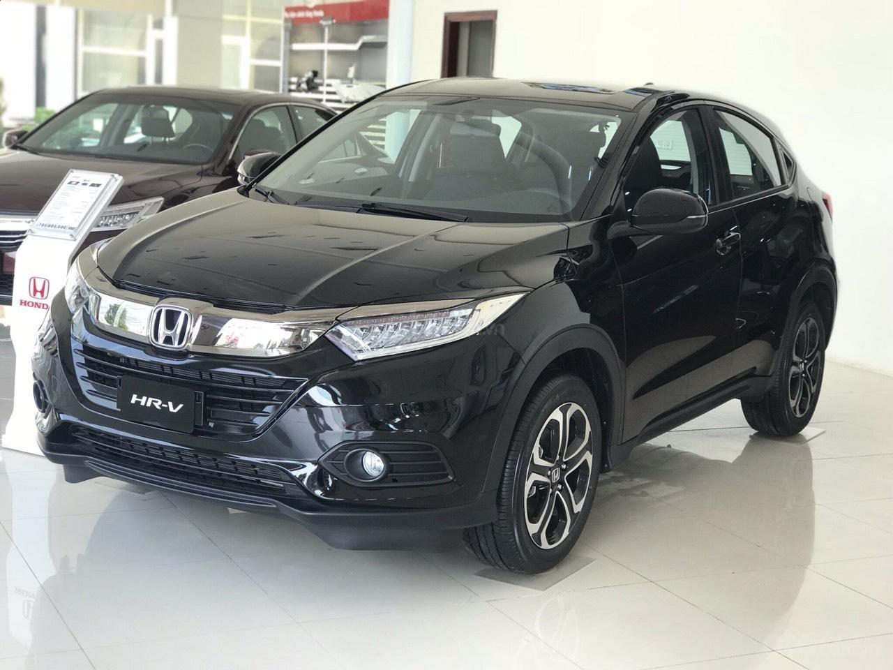 Honda Ô tô Thanh Hóa- Cần Bán Honda HR-V 1.5G màu đen, đời 2019, chỉ cần trả trước 150tr, LH: 0962028368 (2)