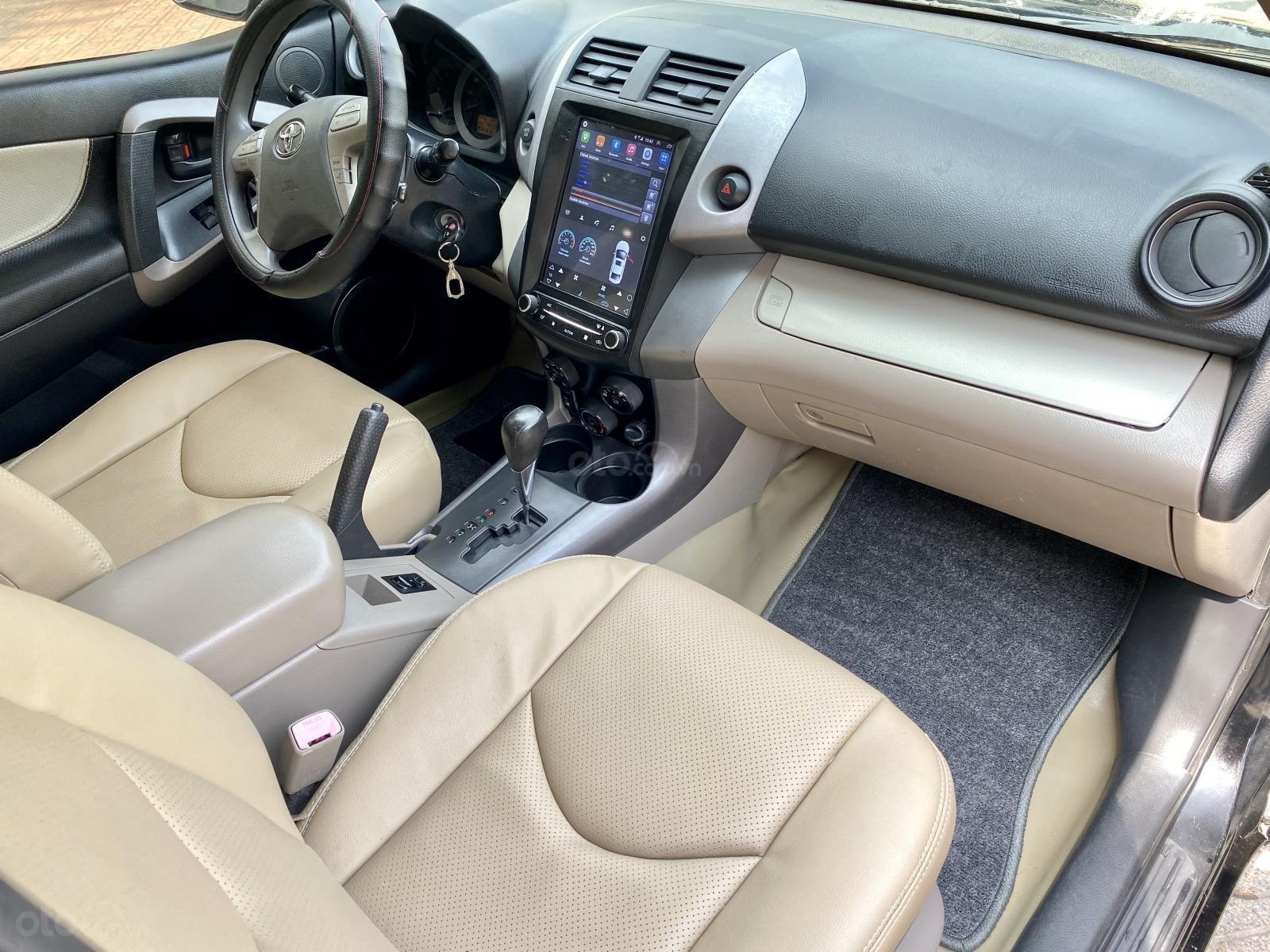 Cần bán gấp Toyota RAV4 2007, màu đen, xe nhập xe gia đình (6)