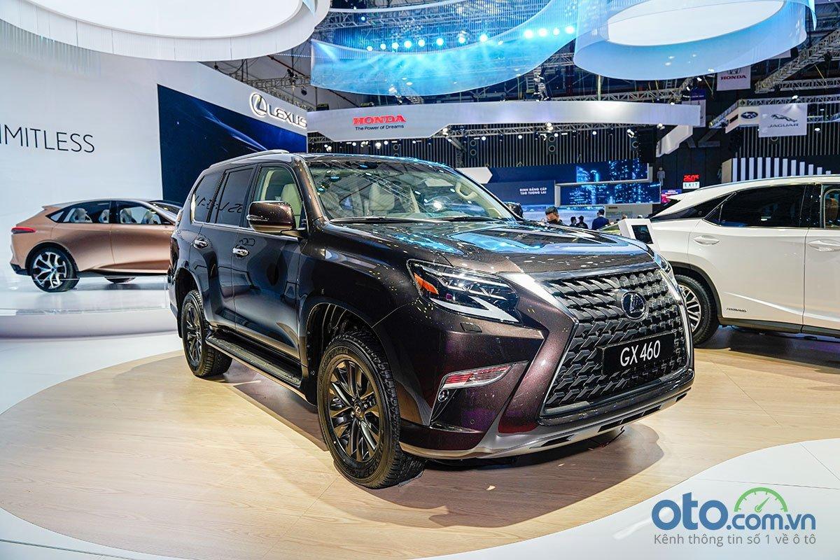 Lexus GX 460 2020 nâng cấp tăng giá lên 5,690 tỷ đồng..
