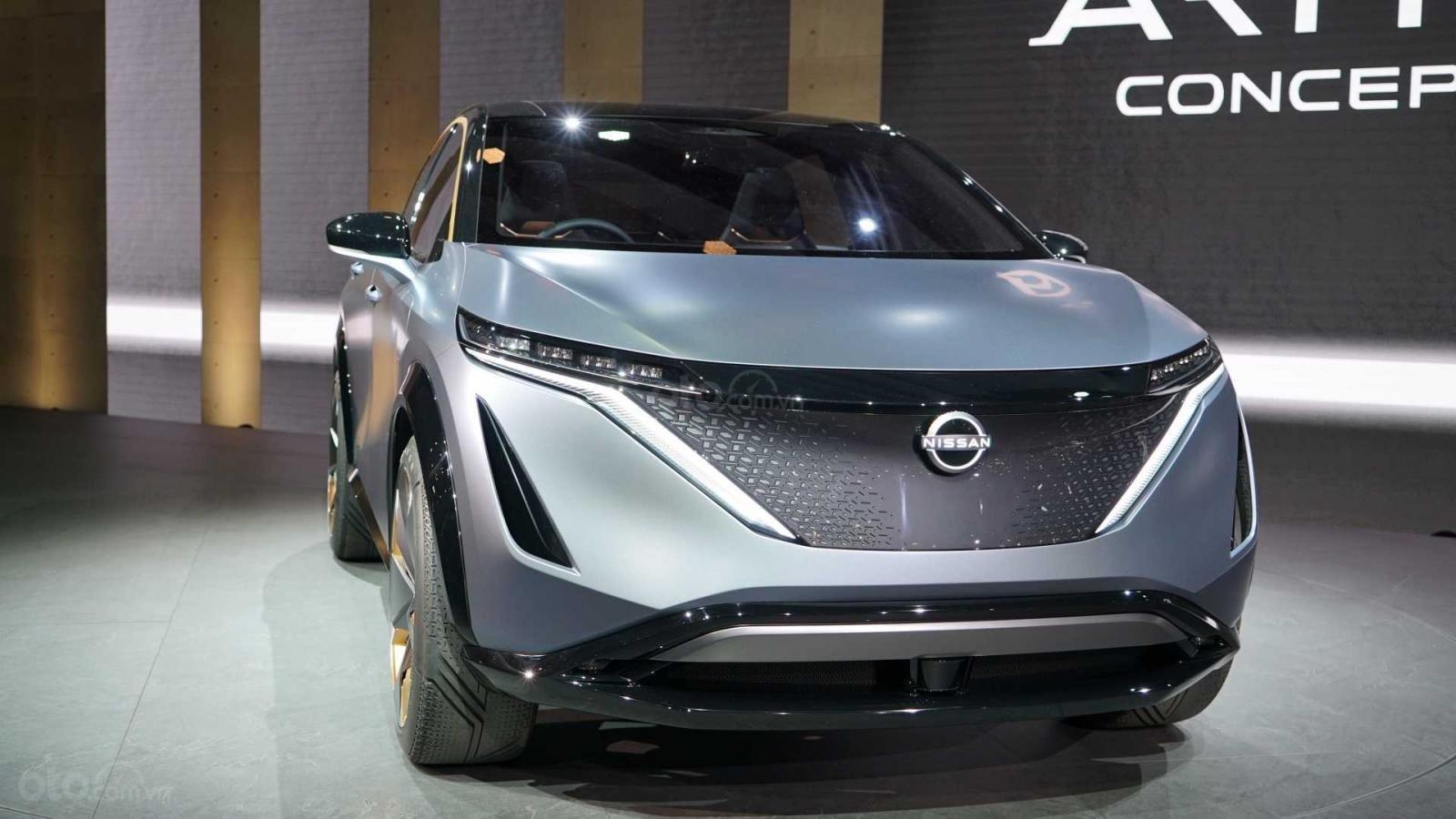 [TMS 2019] Crossover điện Nissan Ariya Concept ra mắt triển lãm Tokyo