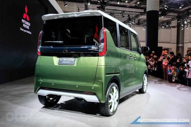[TMS 2019] Mitsubishi Super Height K-Wagon concept - Trẻ trung, năng động