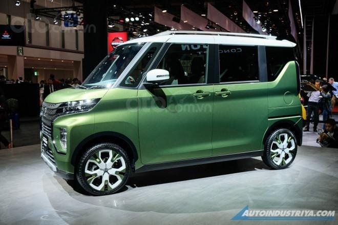 [TMS 2019] Mitsubishi Super Height K-Wagon concept - nhỏ gọn nhưng rộng rãi