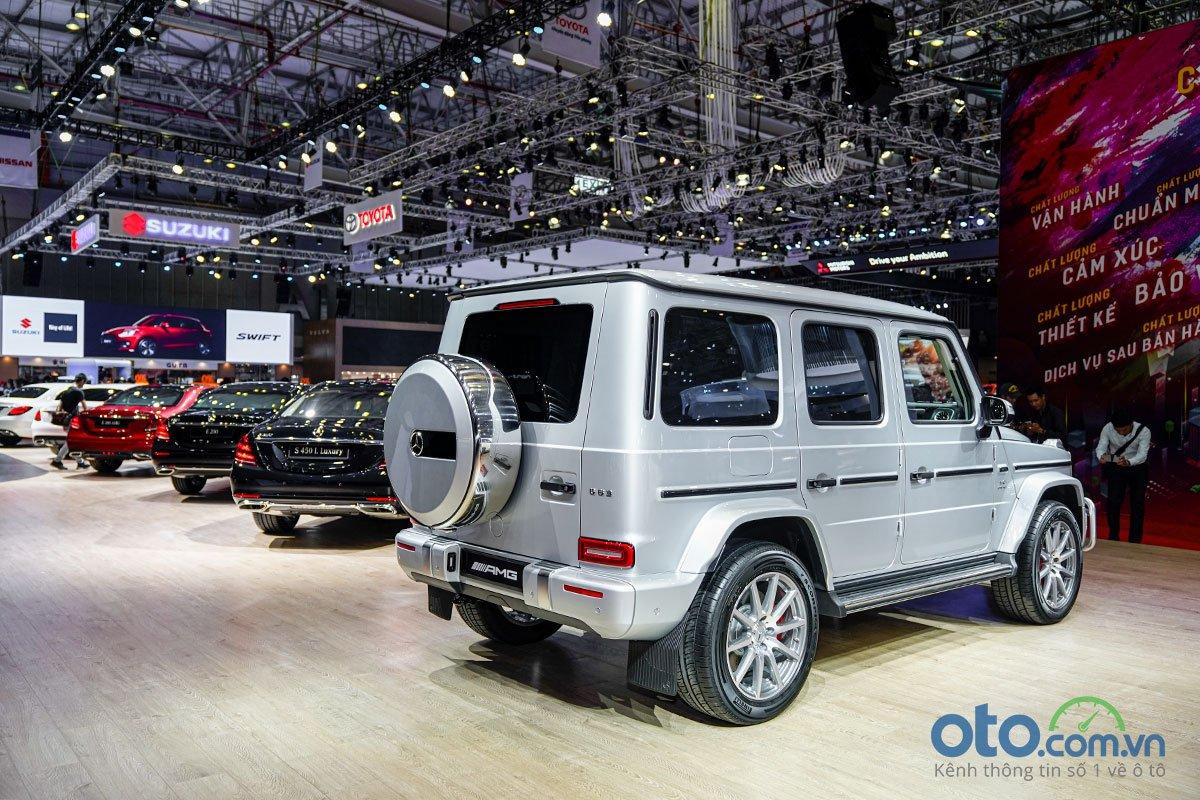 """[VMS 2019] Mercedes-AMG G 63 2019 """"chào sân"""" ấn tượng, chốt giá hơn 10,6 tỷ đồng a3"""
