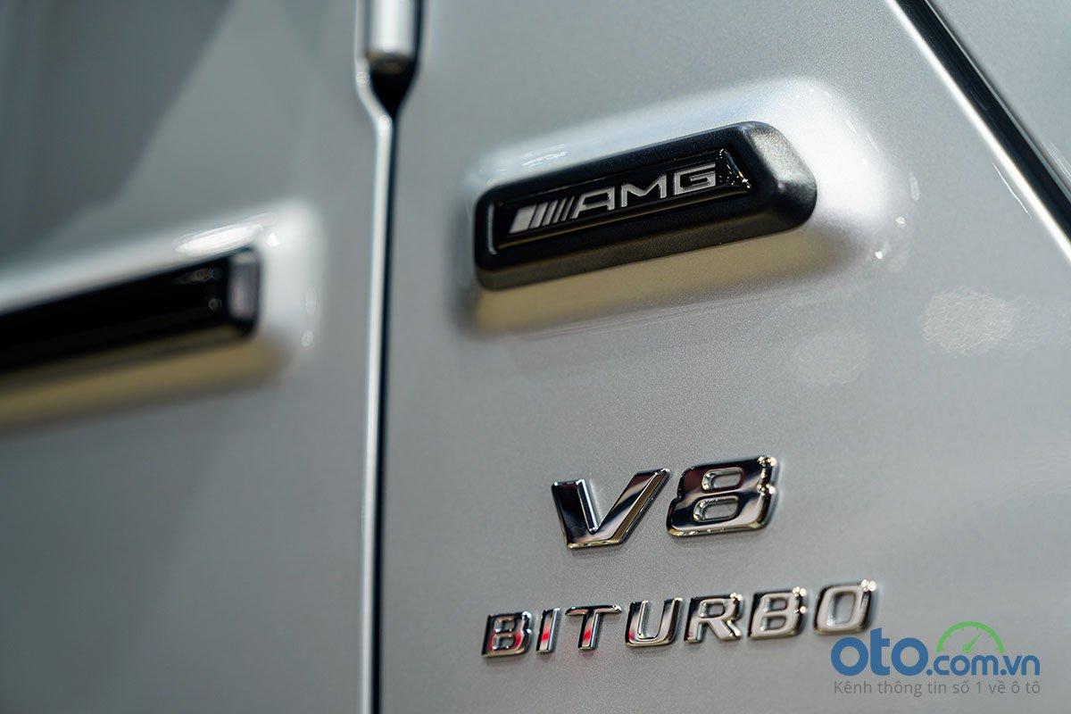 Biểu tượng thể hiện sức mạnh của  Mercedes-Benz G 63 AMG.