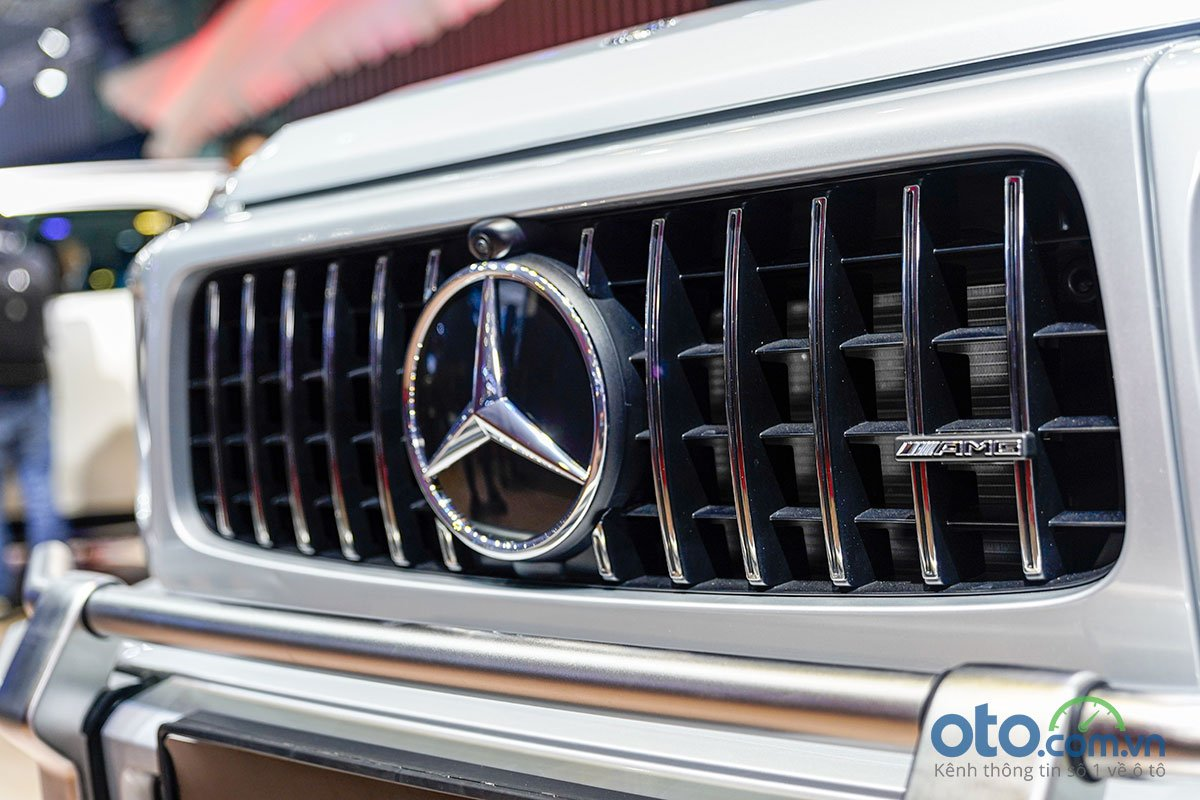Lưới tản nhiệt của Mercedes-Benz G 63 AMG.