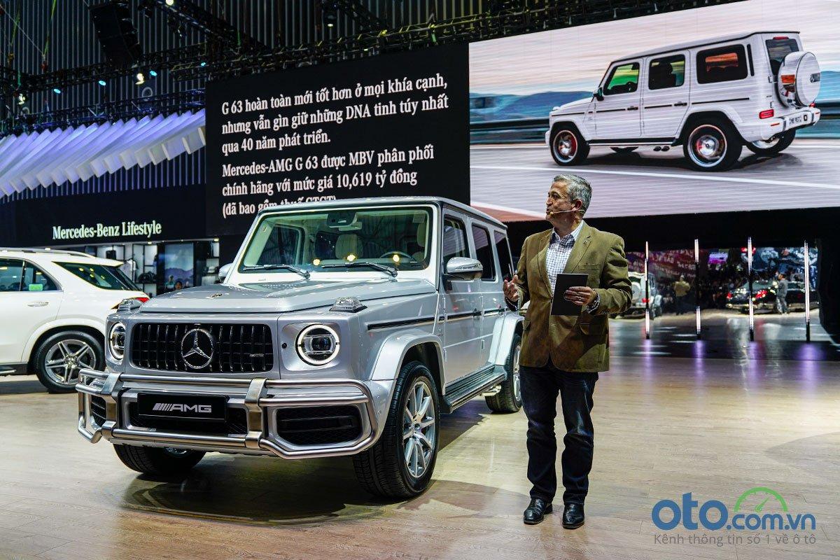 Mercedes-Benz G 63 AMG xuất hiện tại VMS 2019.