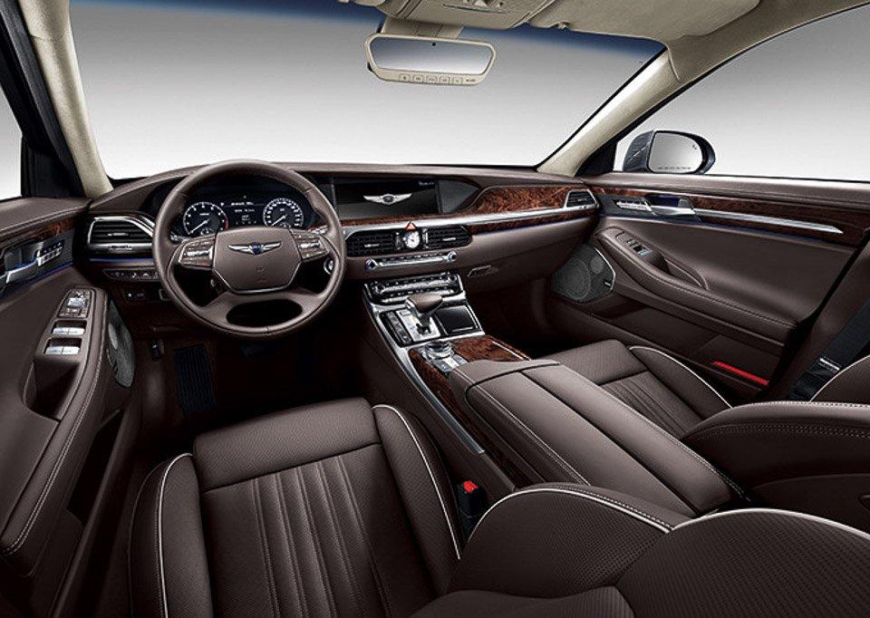 Tiện nghi xe Hyundai Genesis