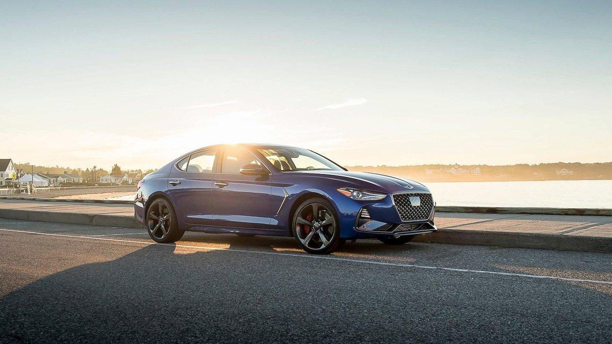 Ngoại hình Hyundai Genesis