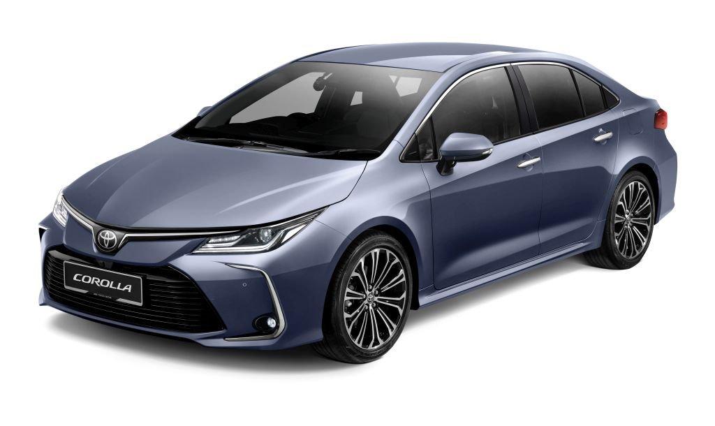 Ngoại thất xe Toyota Corolla Altis