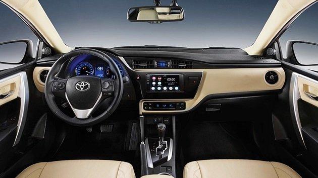 Nội thất xe Toyota Corolla Altis