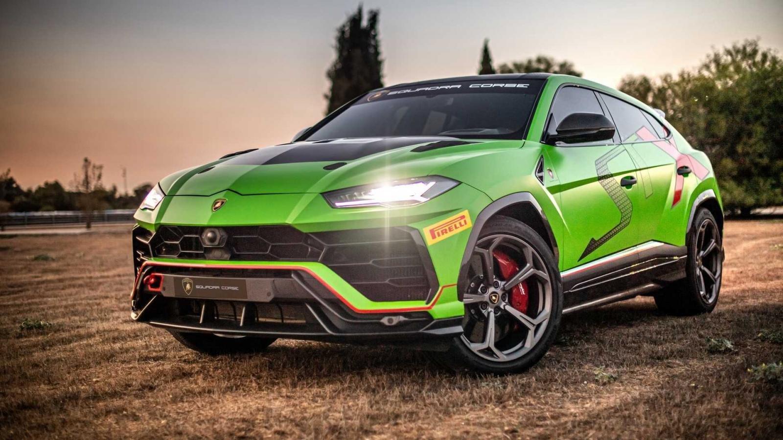 Lamborghini tiết lộ hình ảnh chiếc xe đua SUV đầu tiên trên thế giới,