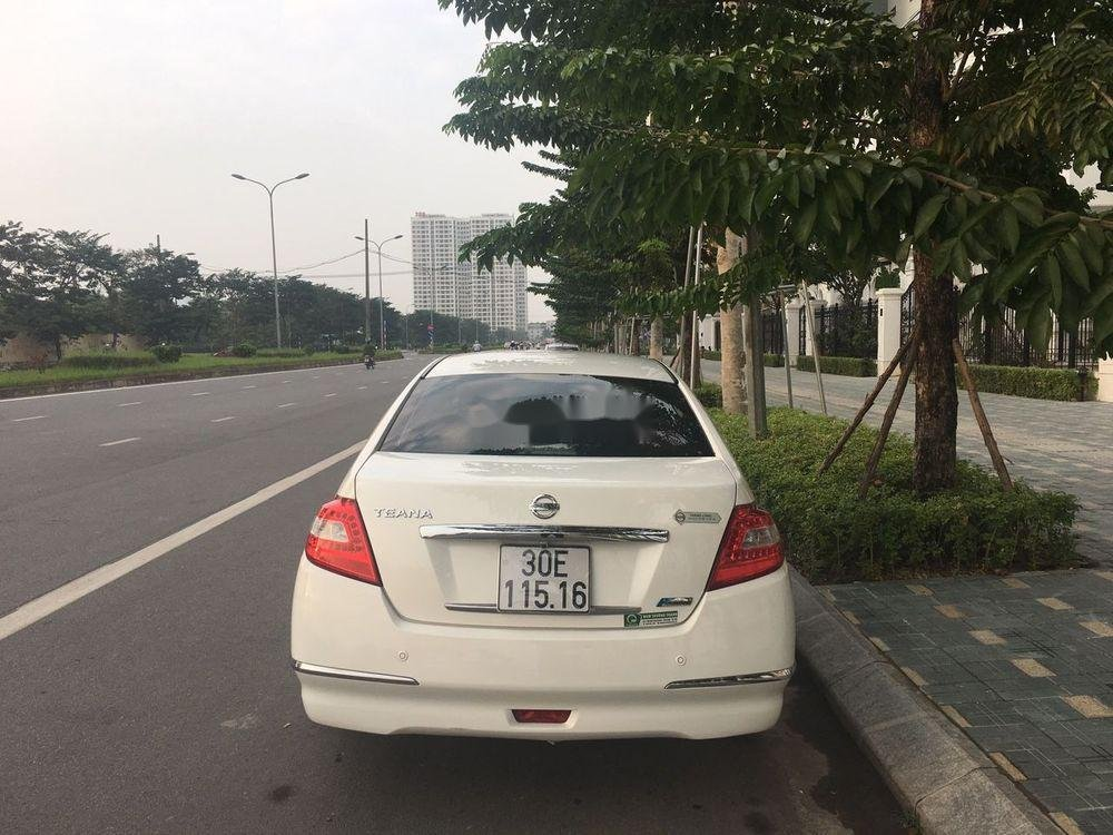 Cần bán gấp Nissan Teana AT năm 2010, màu trắng, nhập khẩu, 475 triệu (2)