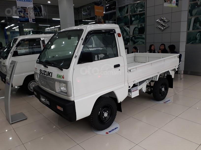 Bán xe Suzuki Super Carry Truck đời 2019, màu trắng, nhập khẩu nguyên chiếc, 235tr (1)