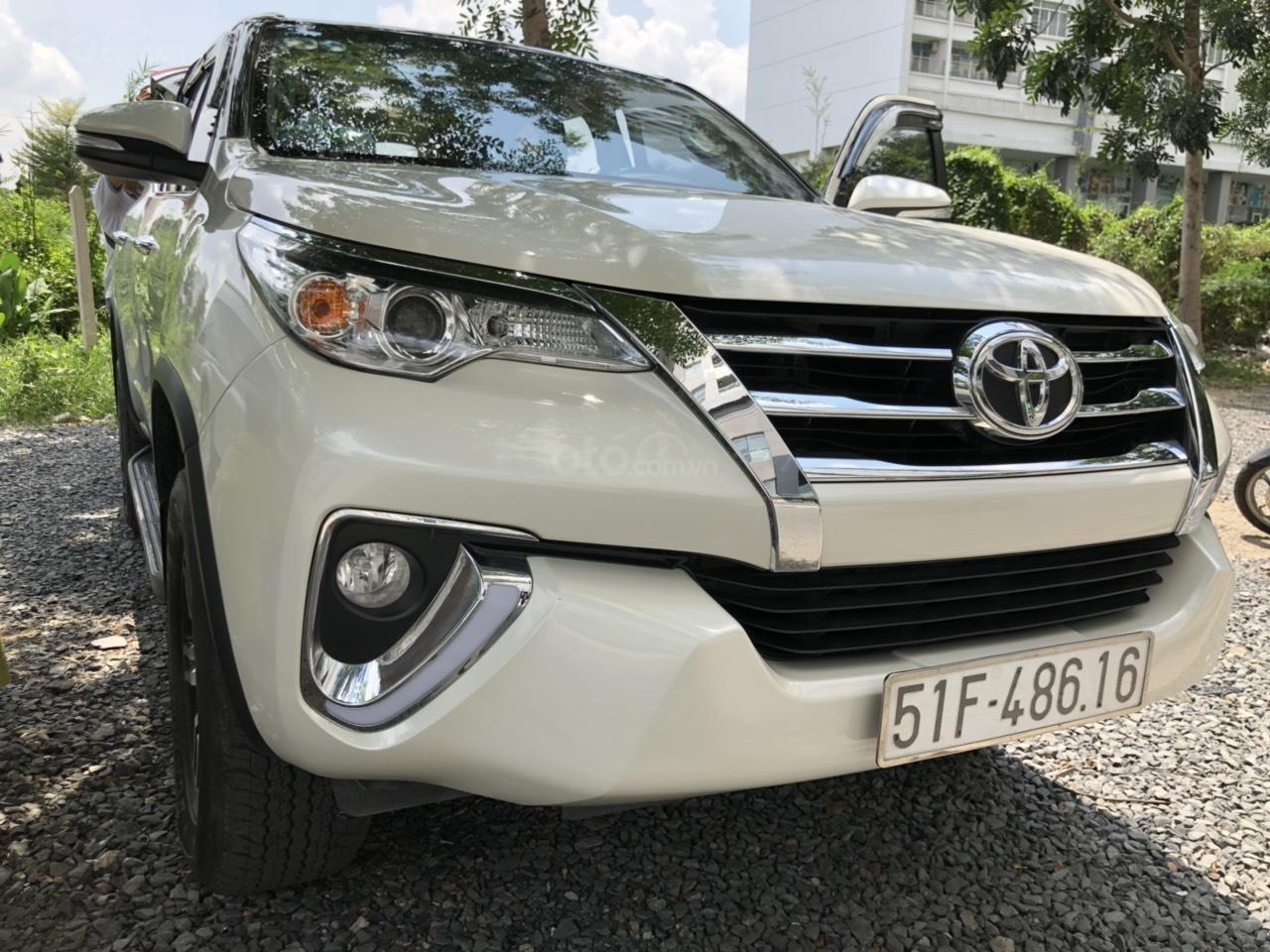 City Ford Used Car bán Toyota Fortuner 2.7V (4x2) năm 2017 nhập khẩu trả góp, xe còn bảo hành hãng (3)
