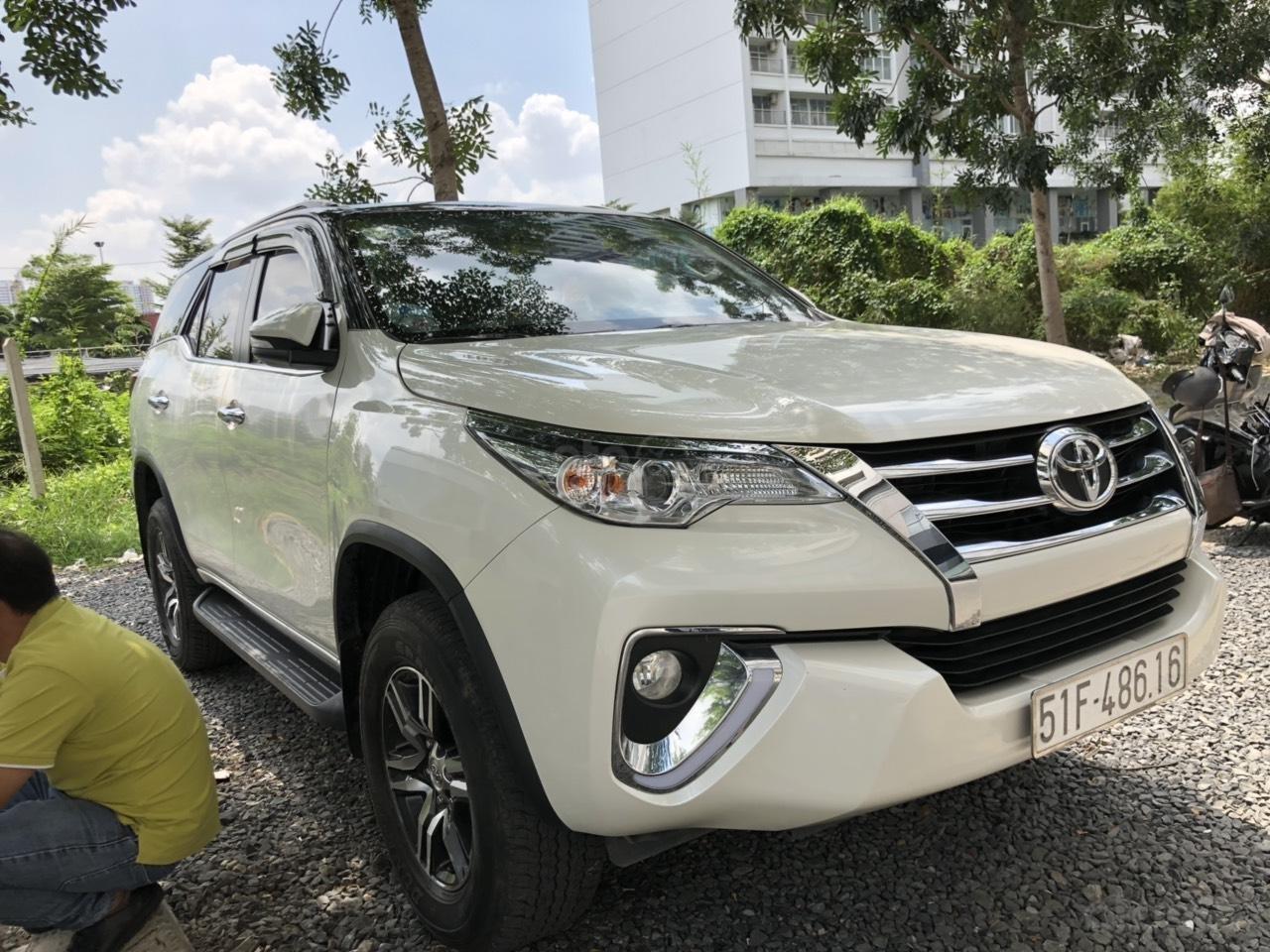 City Ford Used Car bán Toyota Fortuner 2.7V (4x2) năm 2017 nhập khẩu trả góp, xe còn bảo hành hãng (13)