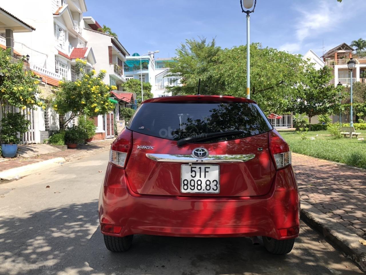 Gia đình đi Úc cần bán Yaris 2017 màu đỏ, nhập Thái Lan, xe đẹp (5)