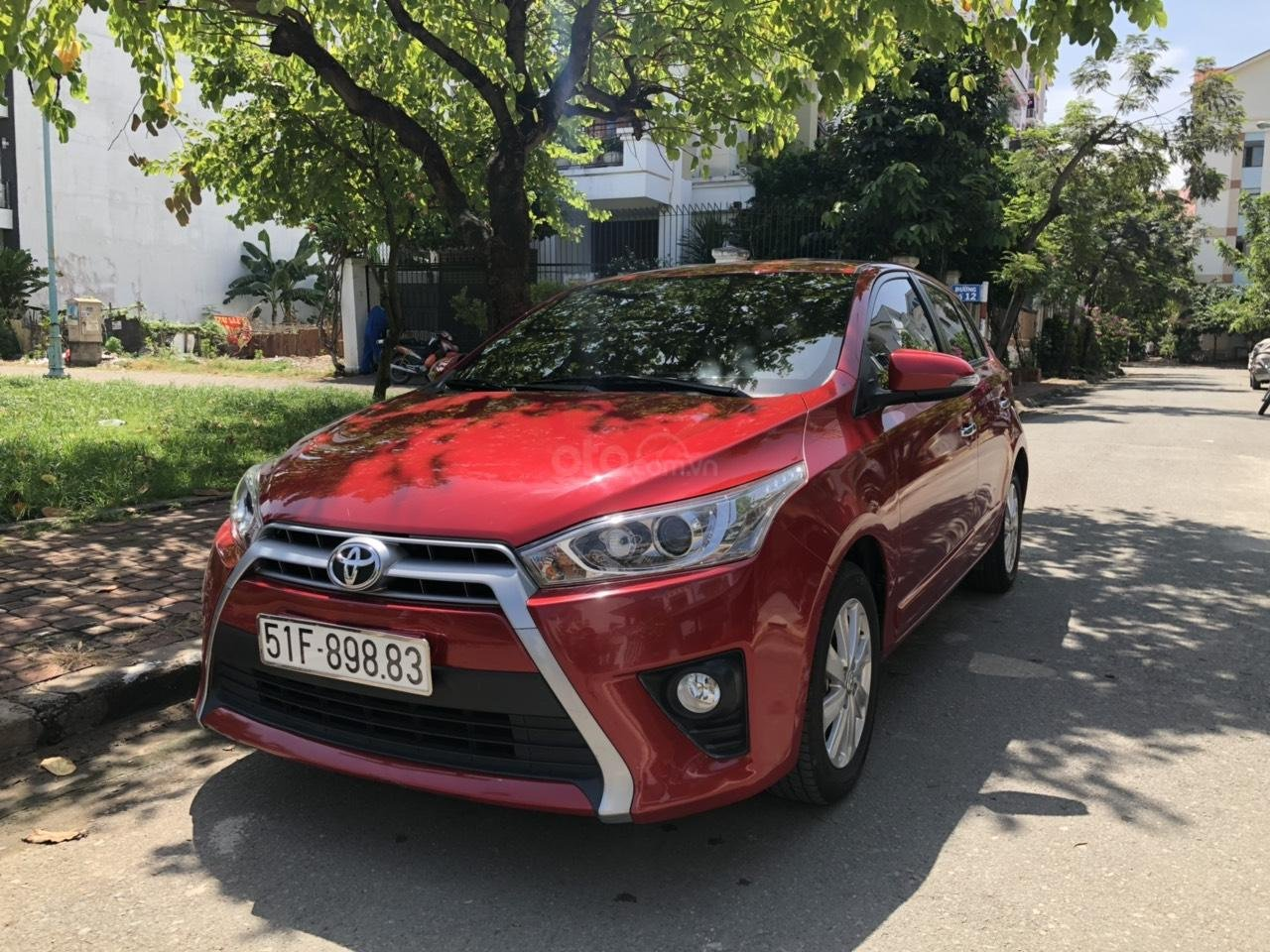 Gia đình đi Úc cần bán Yaris 2017 màu đỏ, nhập Thái Lan, xe đẹp (8)