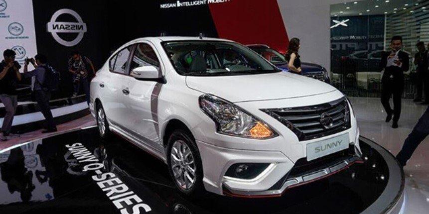 Thiết kế ngoại thất của Nissan Sunny 2020.