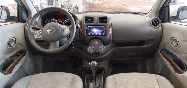 Thiết kế nội thất của Nissan Sunny 2020.