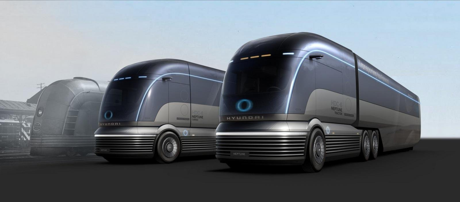 Xe đầu kéo HDC-6 Neptune - phiên bản xe đầu kéo của tương lai.