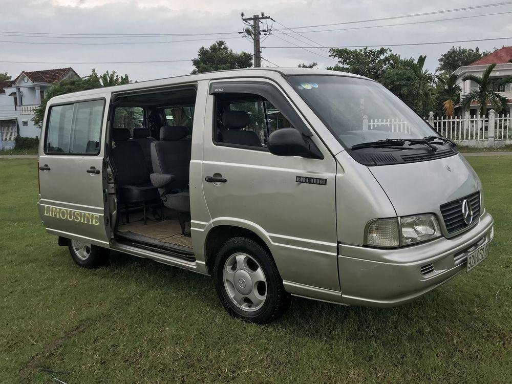 Cần bán gấp Mercedes MB sản xuất năm 2002, màu bạc (3)
