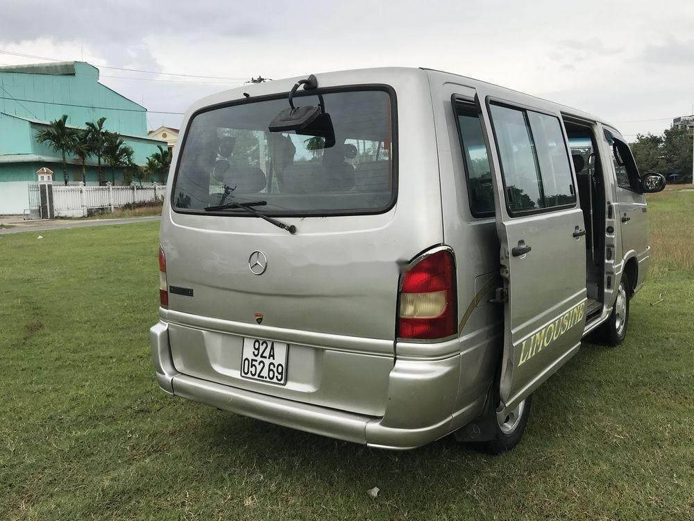 Cần bán gấp Mercedes MB sản xuất năm 2002, màu bạc (4)