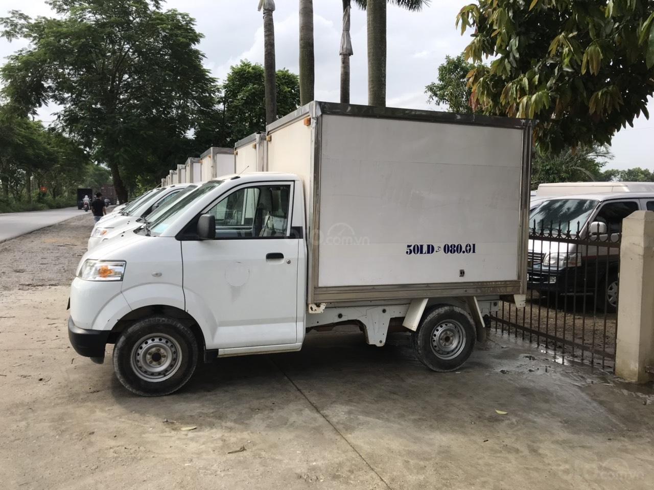 Bán Suzuki đầu to đời 2016, nhập khẩu Indonesia, thùng kín, xe chạy ít (10)