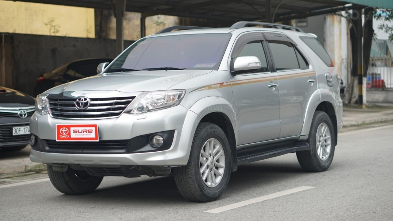 Bán Toyota Fortuner 2.7V (4x4) sản xuất năm 2012 (1)