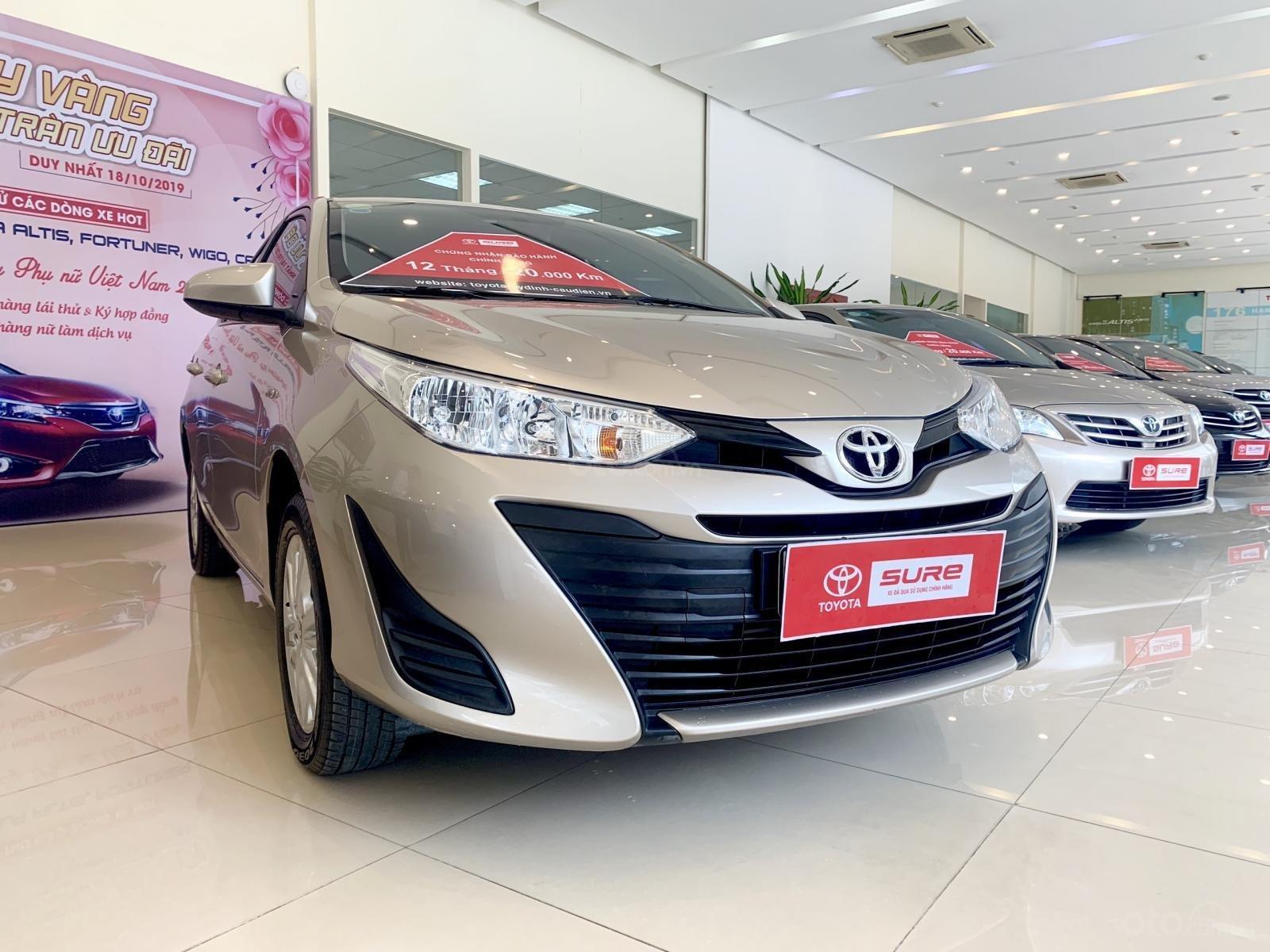Bán xe Toyota Vios E đời 2019 màu nâu vàng (9)