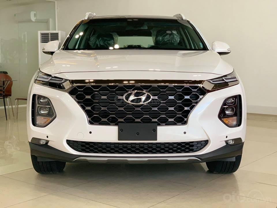 Hyundai Santa Fe mới 2019 - Chỉ 340tr nhận xe ngay - Giảm ngay tiền mặt và tặng vô số phụ kiện (1)